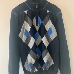 BUY 2 get 1 FREE/ 1/4 zip / Knit sweater